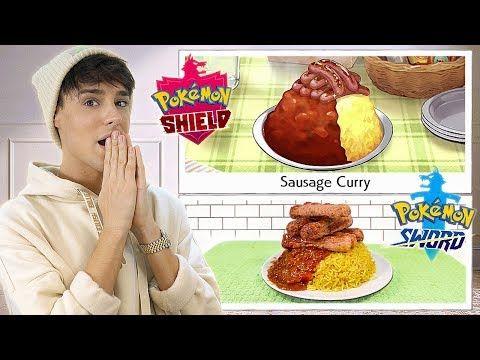 I Followed Pokemon Sword Shield Recipes In Real Life Youtube In 2021 Pokemon Recipes Curry Recipes
