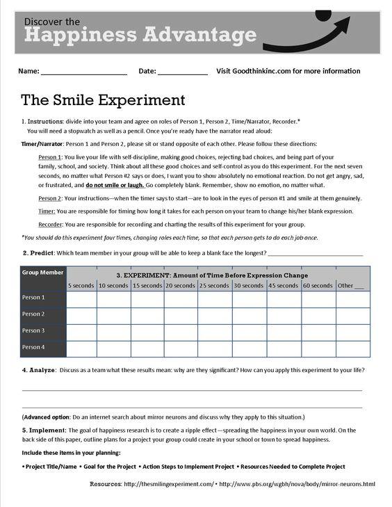 Positive Psychology and Smile Essay Sample