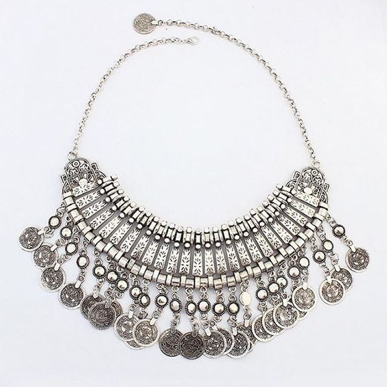The Moroccan Coin Necklace! Only $28 with Free Shipping on OMGaccessories.com #jewelry #bracelets #necklaces #earrings #fashion #style #ootd #wiw #want #need #love #OMGgurls
