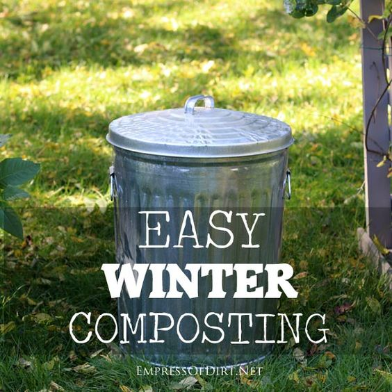 Simple Kitchen Garden: Gardens, The Winter And Bags