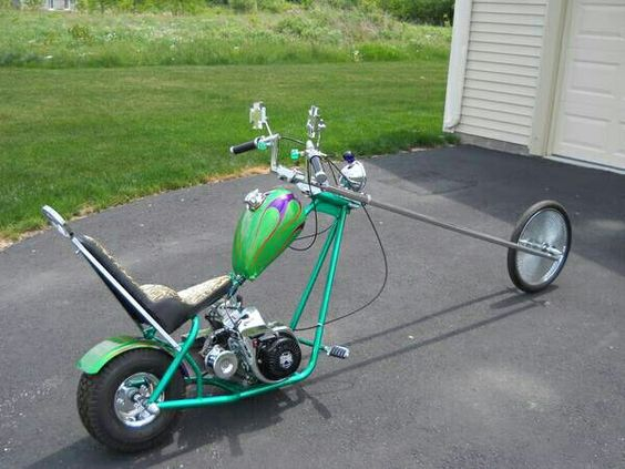 Vintage Mini Bike Chopper : Minibike chopper hooked on minibikes pinterest
