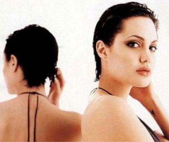 Hollywood Hair Report: Throwback Thursday: Angelina Jolie short pixie haircut!
