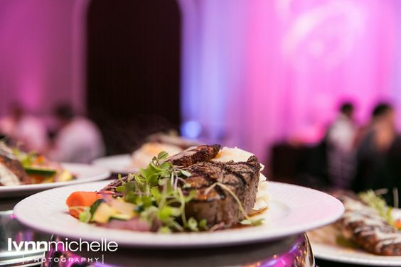 Fabulous cuisine prepared by our highly trained Chef at Piazza on the Green! Captured by Lynn Michele Photography.