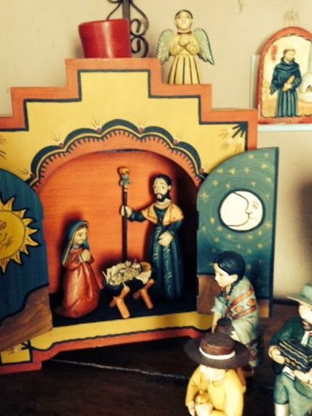 New Mexican Nativity Set Heather's Water Works