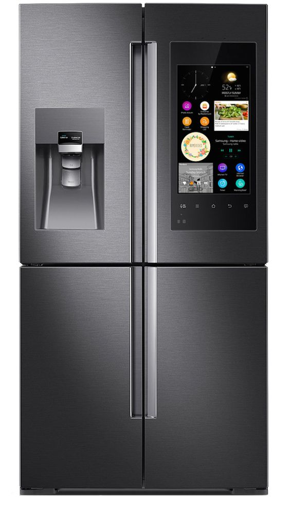 Family Hub Refrigerator by Samsung - Touch Screen: