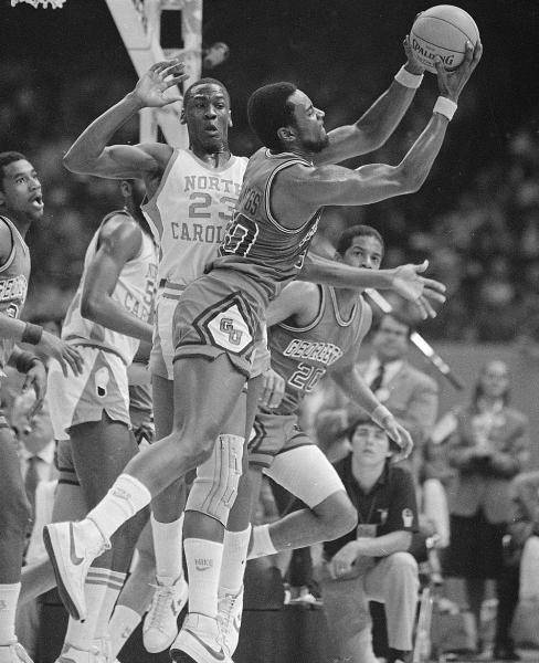 NCAA championship : Classic photos of Michael Jordan