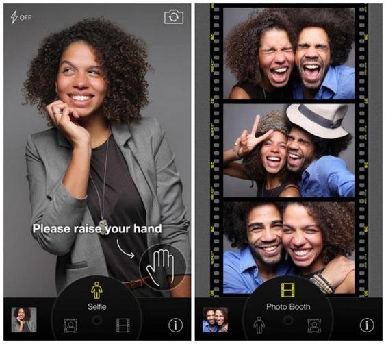 CamMe app Autofotos sin tocar el móvil