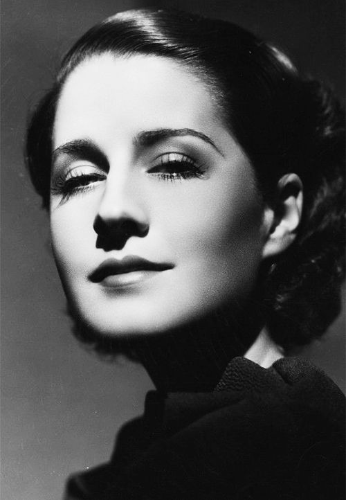 Norma Shearer. Photo by George Hurrell, 1934.