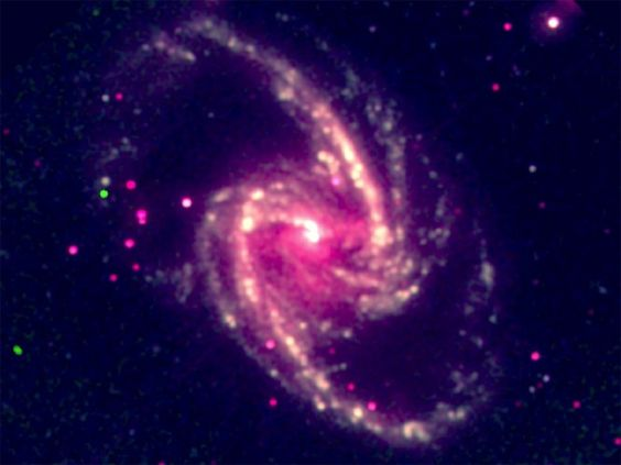 Velocidade de rotação de buraco negro gigante é medida pela 1ª vez