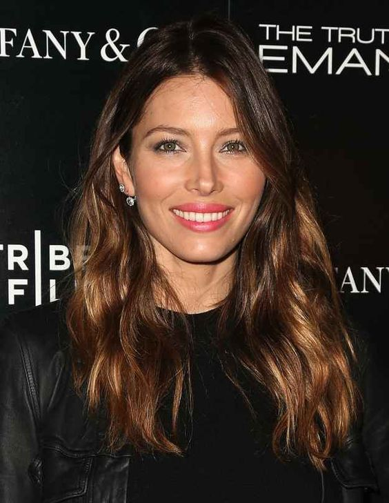 Jessica Biel   24 Celebrities Who Have Perfected The Ombre Hair Color