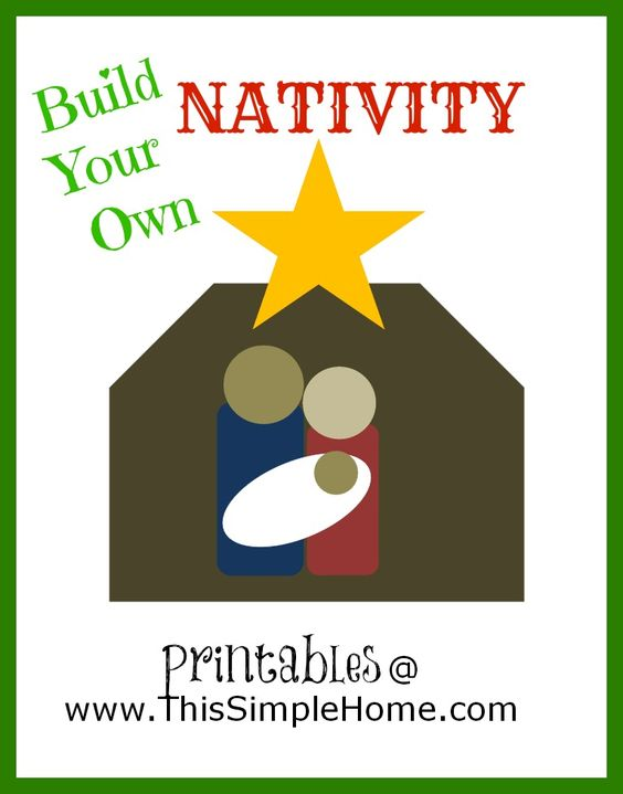 www save on crafts com nativity printables and shape on 7355