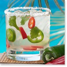 AY CARAMBA 2 parts Sauza® Conmemorativo Tequila 1 part Cointreau® 2 ...
