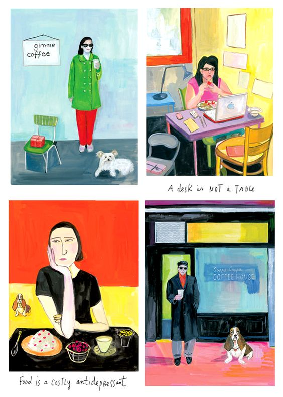 Food Rules illustrations (Maira Kalman)