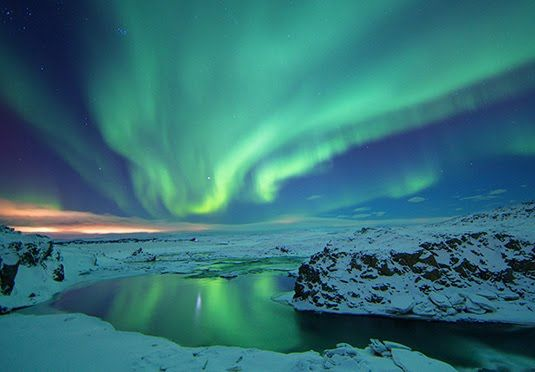 A stunning three-night winter break in Iceland with a Northern Lights tour, spa access, breakfast and travel