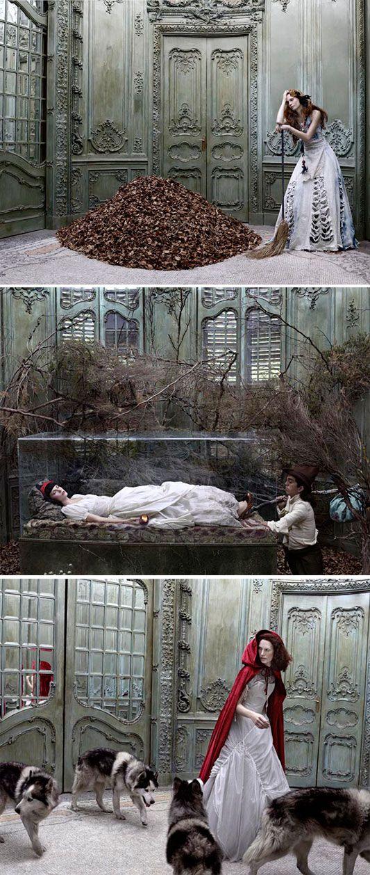Fairy Tales. Vogue by Eugenio Recuenco
