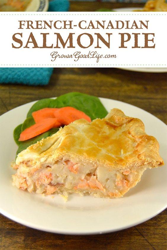 French-Canadian Salmon Pie