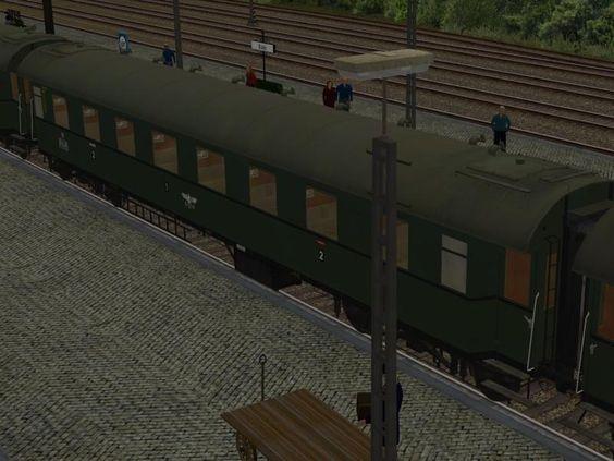 AB4ü28 Einheits-D-Zugwagen Gruppe 29. Ab #EEP10 http://bit.ly/AB4ü28-Einheits-D-Zugwagen