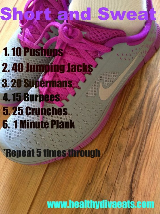 Short and sweet workout that ANYBODY can do