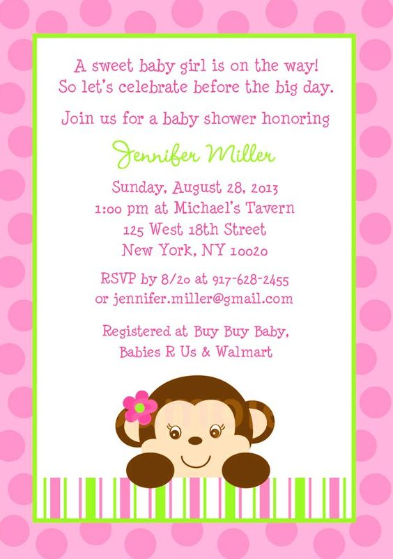 monkey baby showers monkey baby and baby shower invitations on