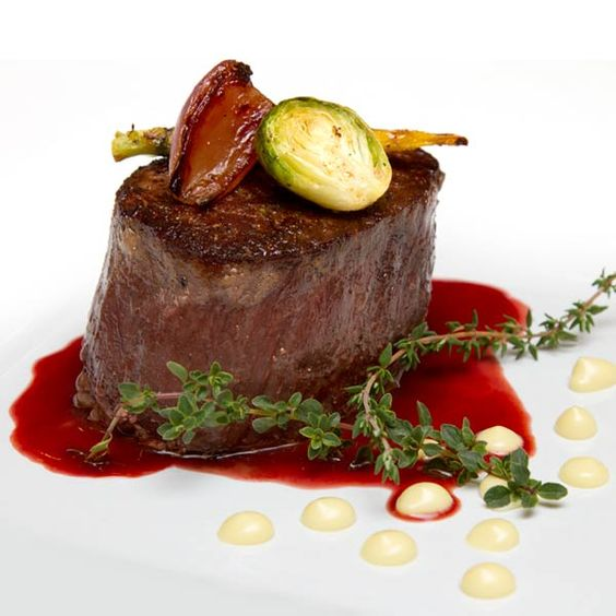 Filet Mignon With Red Wine Sauce Recipe — Dishmaps