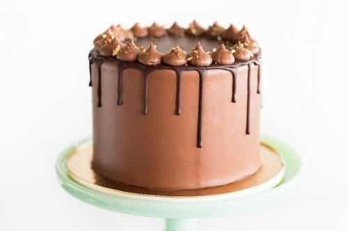 Le Drip Cake Le Gâteau Coulant Recette Recette Nappage Chocolat Nappage Chocolat Recette Chocolat