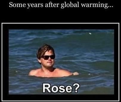 Several Global Warming Years Later After Titanic