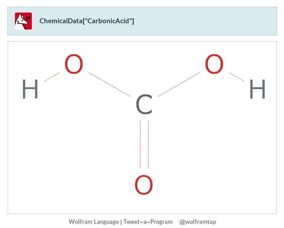 """ChemicalData[""""CarbonicAcid""""]"""