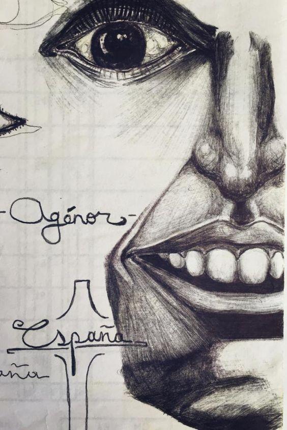 Sociopath. #interesting #art #people #psychology #sketch #pen #pensketch