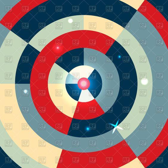 circle abstract geometric - Google Search