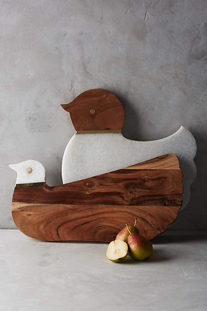 Cluck & Coo Cutting Board: