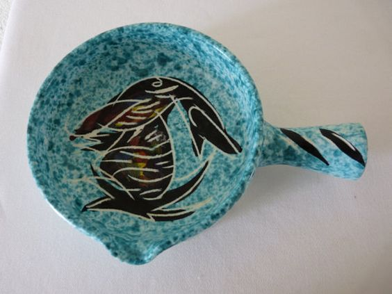 Vallauris Pottery Sauce Dish by Borty Made In by LaCassoulere, €55.00