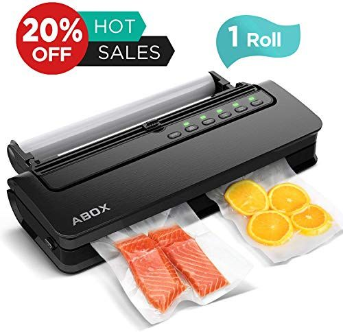 Best Seller Vacuum Sealer Machine Abox V63 Food Vacuum Air