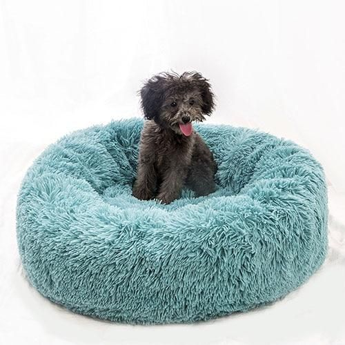 Type Dogs Material Coral Fleece Item Type Beds Sofas Feature Breathable Pattern Solid Weight 500 1000g Do Soft Dog Beds Plush Pet Bed Plush Dog Bed