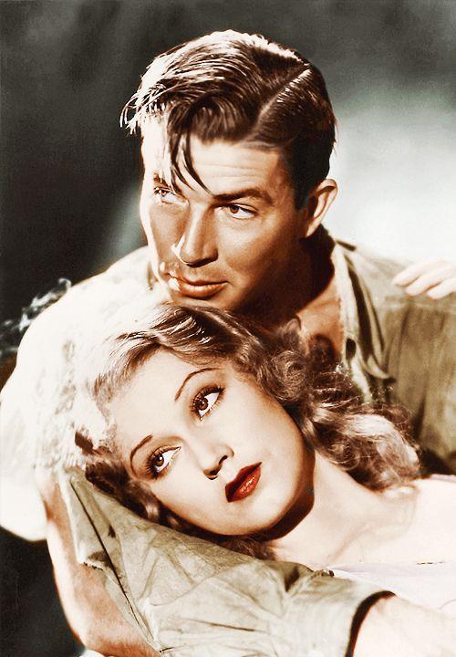 Fay Wray and Bruce Cabot