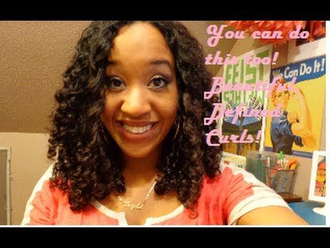 Stretched, Defined Perfect Curls - Marc Anthony Strictly Curls Hair Routine