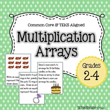math worksheet : array task cards  task cards multiplication and fact families : Multiplication Assessment Worksheet