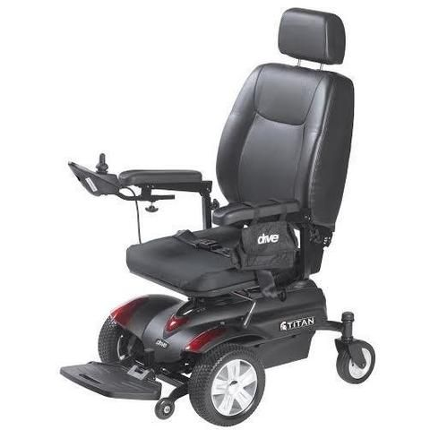 Drive Medical Titan P22 Front Wheel Drive Power Chair Powered Wheelchair Electric Scooter For Kids Kids Scooter