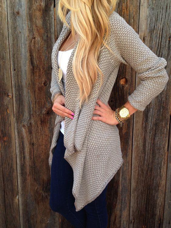 Wardrobe Basics: A Basic Sweater/Cardigan