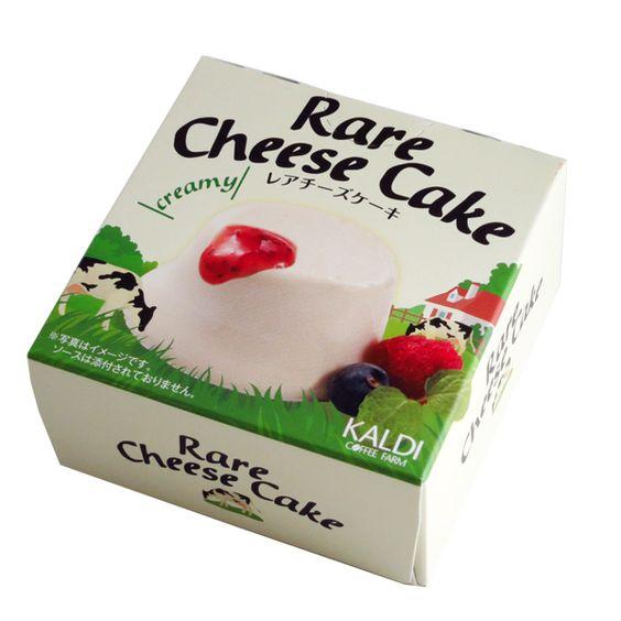 もっちり濃厚なミルクの風味♡カルディの「レアチーズケーキ」が美味