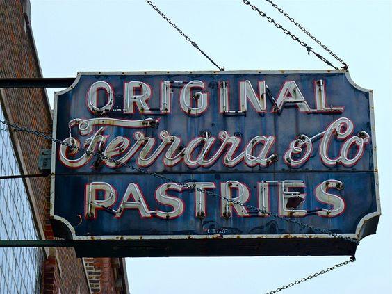 Original Ferrara & Co Pastries, Taylor Street, Chicago, IL