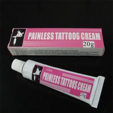 Painless numbing cream 20 grams numbing ointment tattoos for Does numbing cream work for tattoos