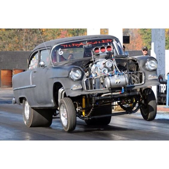 Wheels Up Drag Car Launches