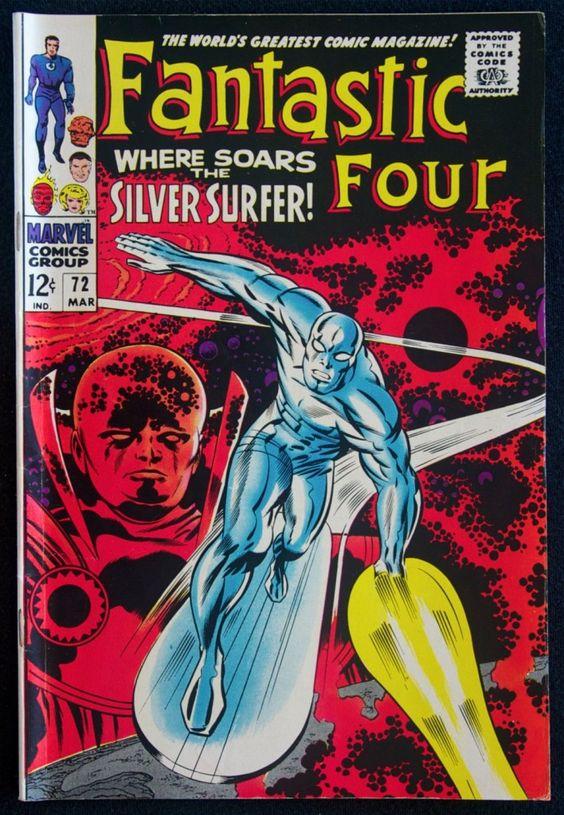 Fantastic Four, Silver Surfer, Jack Kirby