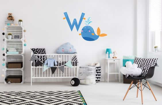 Childrens Wall Decals - Personalized Decal - Girl Name Decal - Name Decal for…