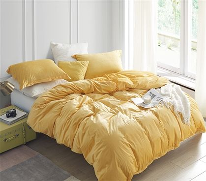 Coma Inducer Twin Xl Duvet Cover Baby Bird Mimosa Yellow Room Decor Yellow Bedding Yellow Room