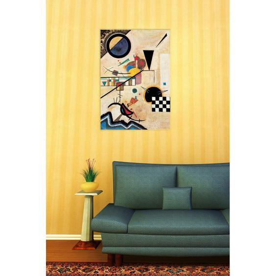KANDINSKY - Solidi in contrasto 1924 70x100 cm #artprints #interior #design #art #print #iloveart #followart #artist #fineart #artwit  Scopri Descrizione e Prezzo http://www.artopweb.com/autori/wassily-kandinsky%20/EC21677