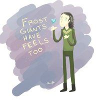Frost Giants have feels man. Get a heart.