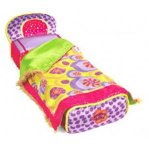 Lettino per le Groovy Girls Bambole Dimensioni: 36 x 13 x 10 cm Bed for the Groovy Girls Dolls Product size: 36 x 13 x 10 cm