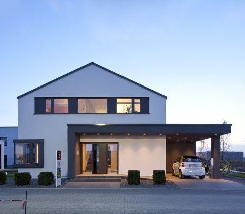 Doppelgarage satteldach modern  Modern House … | Pinteres…