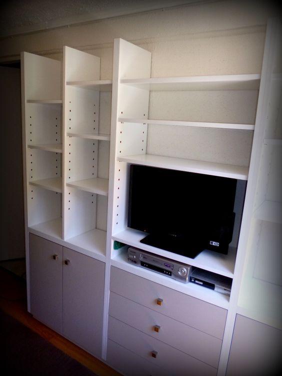 explora mueble biblioteca biblioteca para y mucho más puertas tvs